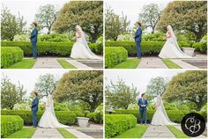 First Look- First Look at Wedding - Grosse Pointe War Memorial Wedding by Grosse Pointe Farms photographer, Chelsea Brown Photography- http://www.chelseabrownphotography.com