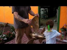 DIY Boat Propeller - Part 9 - Machining and Balancing - YouTube
