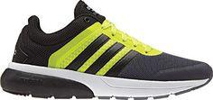 Men's adidas NEO Cloudfoam Flow 2.0 Sneaker - Solar Yellow/Black/Onix Running…