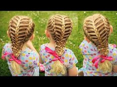 How to : Suspended Infinity Braid on yourself   Braids for long medium hair - YouTube