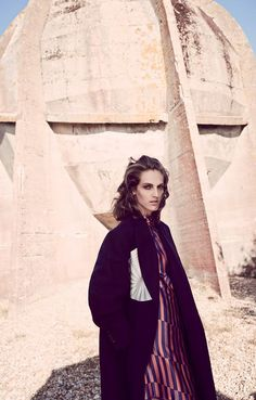 Vogue Turkey November 2014 - Othilia Simon by Serge Leblon