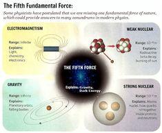 Las fuerzas básicas de la física
