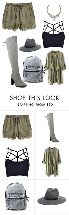 """""""Untitled #53"""" by mariexchristin ❤ liked on Polyvore featuring H&M and Bebe"""