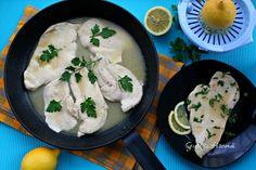 Piept de pui în sos de lămâie - Gust și Aromă Cheese, Chicken, Food, Essen, Meals, Yemek, Eten, Cubs