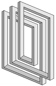Greyscale figures – Impossible world - Optical Illusions Optical Illusions Drawings, Illusion Drawings, 3d Drawings, Illusion Kunst, Illusion Art, Illusion Tricks, Impossible Shapes, Arte Linear, Illusion Pictures