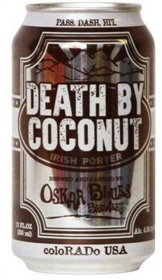 Oskar Blues Death by Coconut Porter