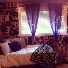 Teen bedroom ideas on pinterest for Purple bedroom ideas tumblr