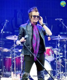 Glenn Hughes @glenn_hughes live on stage with Kings Of Chaos during the Stone Music Festival in Sydney, Australia on Saturday, April 20th, 2013.