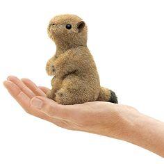 Folkmanis Mini Prairie Dog Finger Puppet Folkmanis…