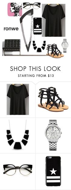 """""""ronwe contest"""" by nicecasa ❤ liked on Polyvore featuring Mystique, Karen Kane, Tommy Hilfiger, ZeroUV and Givenchy"""
