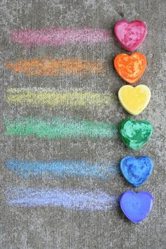 Make Your Own Sidewalk/Pavement Chalk | FUN AT HOME WITH KIDS