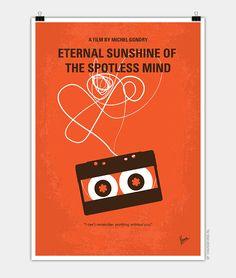 No384 My Eternal Sunshine of the Spotless Mind minimal poster - CHUNGKONG CHUNGKONG