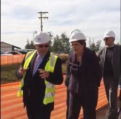 Dilma modelito Ministra Minas e Energia com capacete e tudo, visitando Campinas, 09/06/16.
