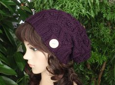 slouchy, knit toque