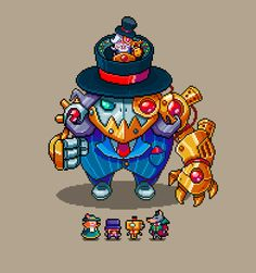 """Monsters & Monocles Developer:Retro DreamerSystem:Windows, Mac, LinuxWebsite:monstersandmonocles.com / monstersandmonocles.tumblr.com Description:""""Monsters & Monocles is a top-down procedural romp for up to four people. It's a fast paced, run-and-gun shooter that calls back to old co-op arcade games like Smash TV and Gauntlet. Focusing on short and procedurally generated sessions, you'll be able to hop in for one quick game or play a bunch with new objectives ..."""