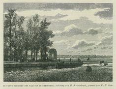 De vaart tussen Den Haag en de Geestbrug (Wiki Toen Leidschendam-Voorburg)