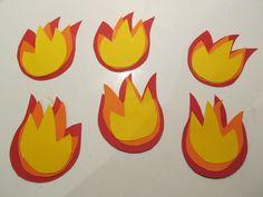 vlammen knutselen