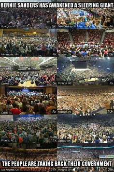 """""""The People have stepped up. The plutocrats and politicos must now step down."""" #FeelTheBern… the hearty, harmonizing kind with & for #NotMeUS … us interconnecting all <3"""