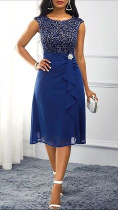 Formal dinners to work events and casual fall afternoonsour womens dress selection features something fllatering for every occasion!Huge selection with new styles added every day. Best African Dresses, Latest African Fashion Dresses, Women's Fashion Dresses, Dress Outfits, Dresses Dresses, Dresses Online, Dinner Dresses, Dress Vestidos, Ankara Fashion