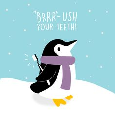 THE TEMPERATURE IS DROPPING, but our oral hygiene isn't! Call us today to schedule your checkup!