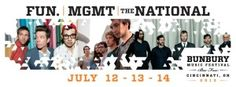 2013 Bunburry #Music #Festival | July 12 - 14 | Ohio | View the rest of the #lineup here!