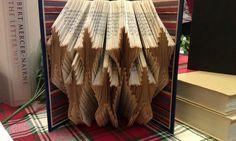 Folded Book Art 7 Stars  Made to Order by MissArtsyCraftsy on Etsy, $15.00