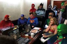 Real-Life Heroes: The Superhero Situation Room