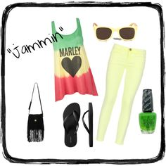 Jammin, created by danielle-schmitz.polyvore.com