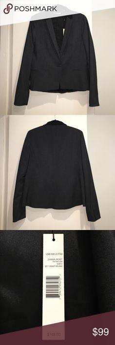 NWT Tahari Blazer New with tags Tahari Blazer. This blazer is a gray color with black collar. T Tahari Jackets & Coats