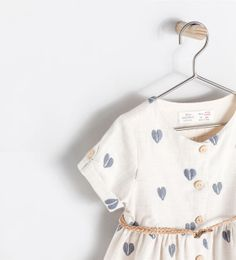 Image 3 of HEARTS PRINT DRESS from Zara