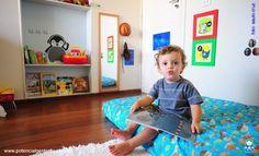 Quarto de criança na linha Montessoriana _ uma opção aces$ível e mais interessante e interativa para os pequenos no seu próprio espaço. Muito me interessou! Em: http://potencialgestante.com.br/movimento-dos-sem-berco/