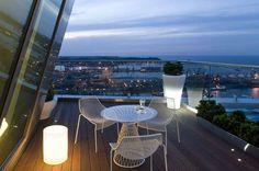 Sea Towers Gdynia, Poland, tarras