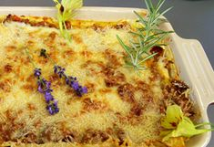 Lasagne Pizza, Cheese, Food, Lasagne, Koken, Food Food, Rezepte, Meals
