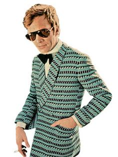 The Peacock Revolution was a time when mens fashion became less dull and was heavily colored.