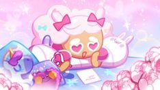 Cookie Run, Cookie Jars, Cotton Candy Cookies, Strawberry Cookies, Cinnamon Cookies, Food Fantasy, Yandere Simulator, Cute Cookies, Aesthetic Art