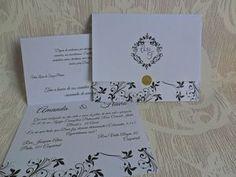 Lindo Convite De Casamento Barato Promoção (10un) - R$ 9,90 no MercadoLivre