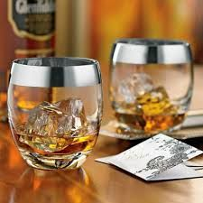 Add to his repertoire with a classic whisky glass set. Handblown glass and silver rim to satisfy all those single-malt cravings.in style. Whiskey Glasses, Whiskey Drinks, Scotch Whiskey, Whiskey Gifts, Whiskey Room, Nice Glasses, Bourbon Cocktails, Bourbon Whiskey, Shot Glasses