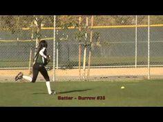 Emily Burrow: Batter Hitting a Triple Vs Explosion. Fast Pitch Softball ...
