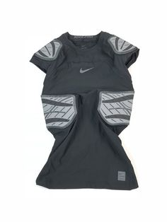 cf78bc979 Details about Nike Pro Hyperstrong 4-Pad Football Compression Shirt Mens XL  Black NWT $90