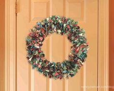 How to Make a Fabric Wreath by Donna Fenske & Nancy Zieman