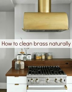 How To Clean Brass Using 2 Natural Kitchen Ingredients