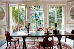 Fashionable dining room - cute image