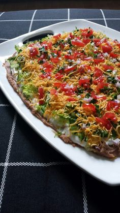"""Scootsie's Taco Dip - """"a classic party dish that no one can refuse!"""" @allthecooks #recipe"""