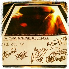 From the In The House of Flies premiere at the Blood in the Snow Canadian Film Festival