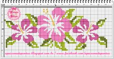 This Pin was discovered by pel Cross Stitch Letters, Mini Cross Stitch, Cross Stitch Borders, Cross Stitch Designs, Cross Stitching, Cross Stitch Embroidery, Stitch Patterns, Butterfly Cross Stitch, Cross Stitch Flowers