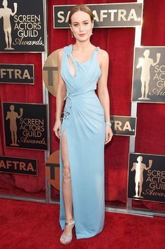 2016 SAG Awards Best Dressed: Brie Larson & More via @WhoWhatWear