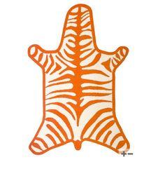 Zebra Rug by Jonathan Adler #Rugs #Zebra #JonathanAdler
