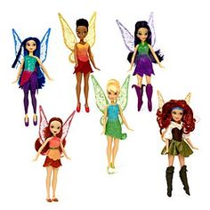 Disney Tinker Bell and The Pirate Fairy Figurines, 6 Pack | Disney StoreFree Shipping - Fairies fun awaits with our fantastic Tinker Bell and The Pirate Fairy figurines. This 6 pack features figurines of Vidia, Iridessa, Zarina, Tinker Bell, Silvermist and Rosetta, all ready for adventure!
