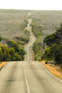 Kangaroo Island road (South Australia) by Maiko Miyazaki