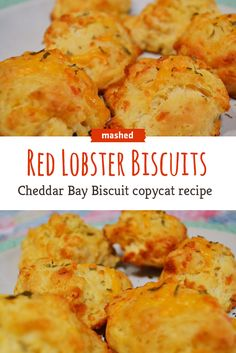 Red Lobster's Cheddar Bay Biscuits are the best. Now you can make your own at home.